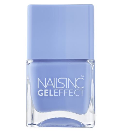 Nails Inc Gel Effect Regents Place Cornflower Blue 14ml