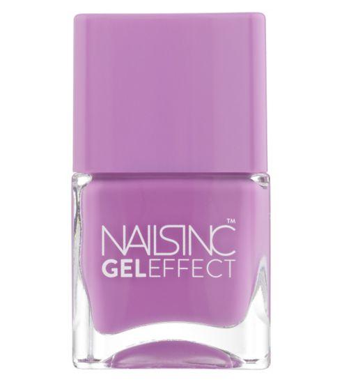 Nails Inc Gel Effect Lexington Gardens Purple 14ml