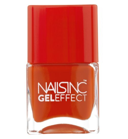 Nails Inc Gel Effect Westend Tomatoe Shade 14ml