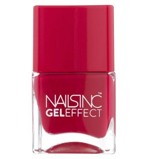 Nails Inc Gel Effect Beaufort Street Rich Raspberry 14ml