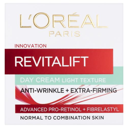 L'Oreal Paris Revitalift Day Cream Light Texture Anti-Wrinkle + Extra Firming 50ml