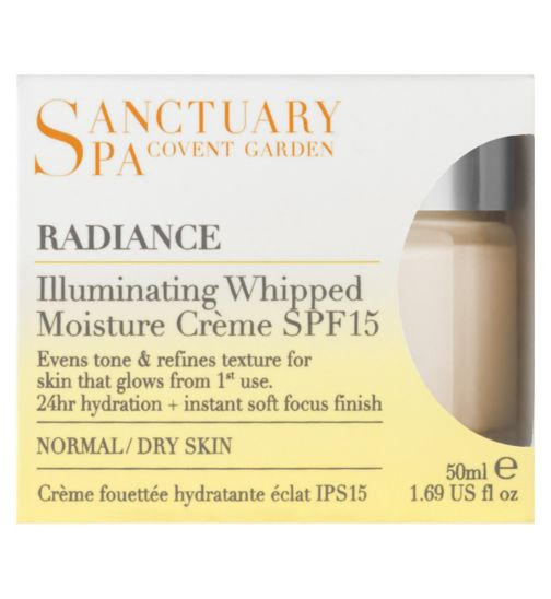 Sanctuary Spa Illuminating Whipped Moisture Crème SPF15