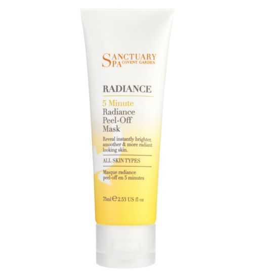 Sanctuary 5 minute peel off-mask
