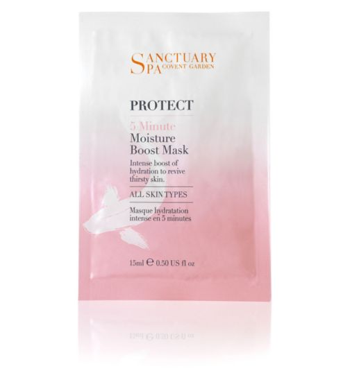 Sanctuary Spa 5 minute Moisture Boost Mask