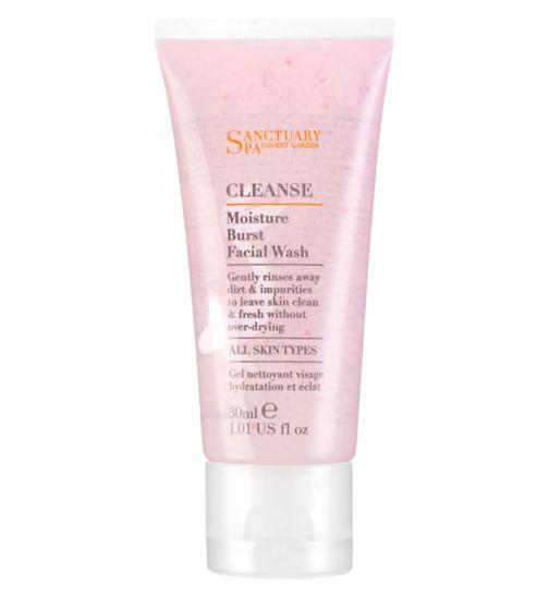 Sanctuary Spa  Moisture Burst Facial Wash Mini - 30ml