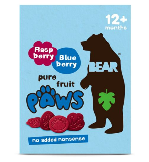 BEAR Paws Arctic Multipack Raspberry & Blueberry (5 x 20g)