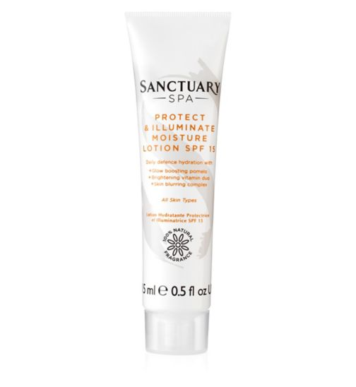 Sanctuary Illuminating Moisture Lotion Mini SPF15 15ml