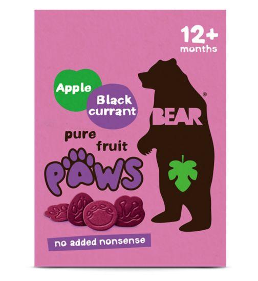 BEAR Paws Jungle Multipack Apple & Blackcurrant (5 x 20g)