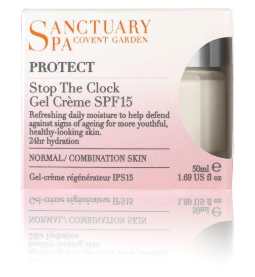 Sanctuary Spa Stop the Clock Gel-Crème SPF15 Normal/Comination 50ml