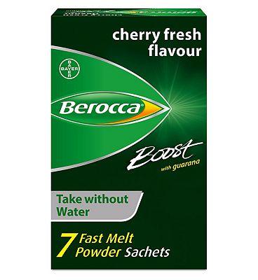 Berocca Boost Energy Vitamin Fast Melt Powder 7 Sachets