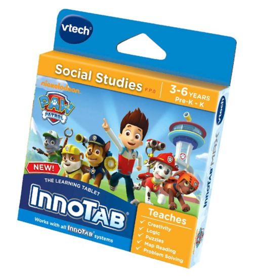 VTECH InnoTab Max Software Paw Patrol Game