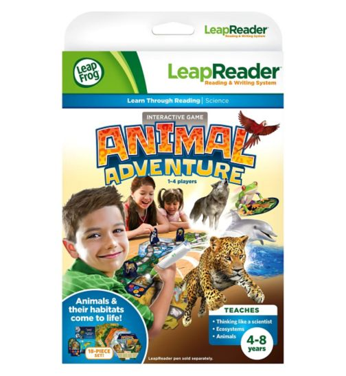 Leapreader Animal Adventure Quest Book