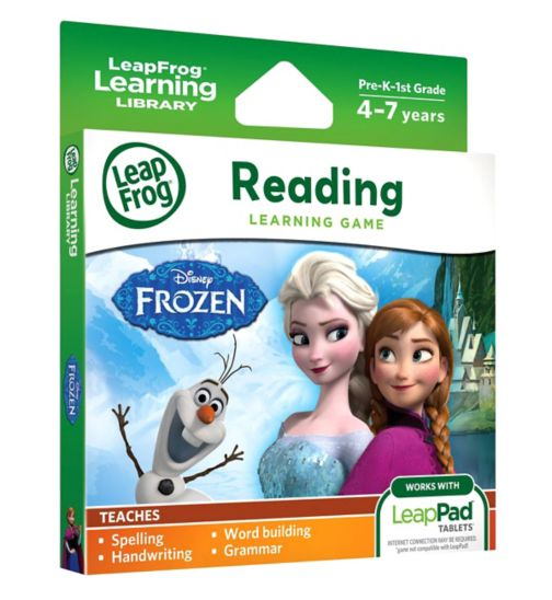Leapfrog Frozen Learning Game