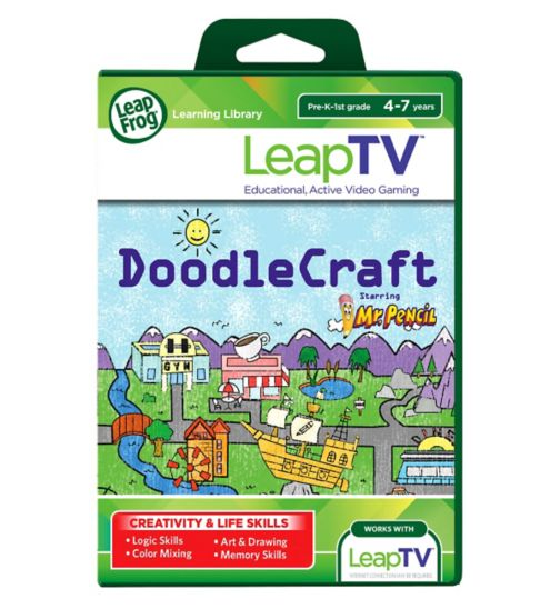 LeapFrog LeapTV Mr. Pencil Presents DoodleCraft Game