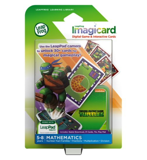 LeapFrog imagicards Teenage Mutant Ninja Turtles
