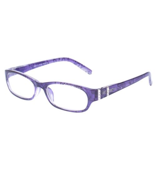 Boots Fashion Churned Reading Glasses Style 1