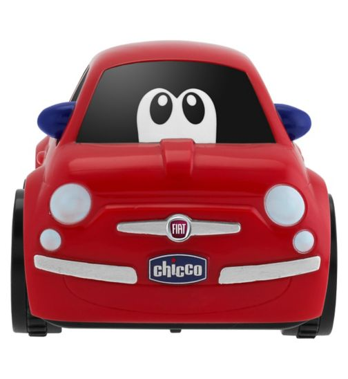 Chicco Fiat 500 Turbo Touch Red