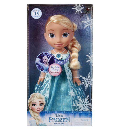 My First Disney Toddler Princess Sing Along Elsa