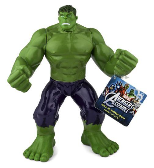 Avengers Hulk 3D Bubble Bath