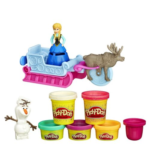 Play-doh Frozen Sled Set