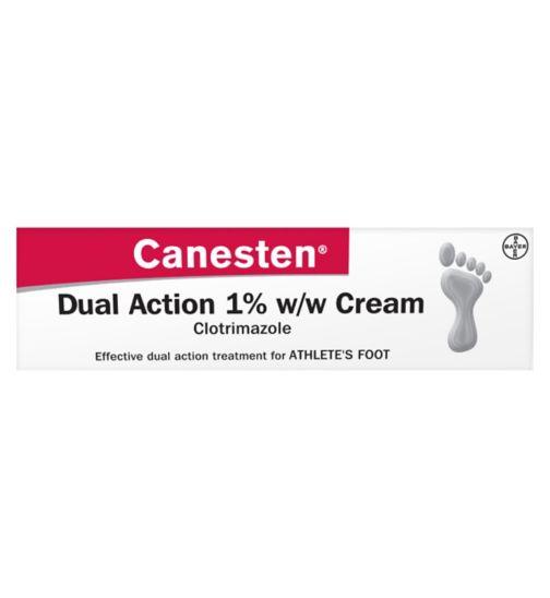 Canesten dual action 1% cream 30g