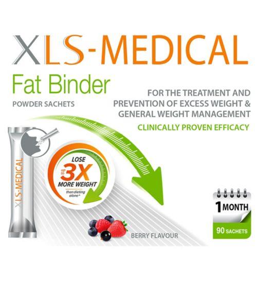 XLS Medical FatBinder direct  sachets 90;XLS-Medical Direct 90 sachets - 1 month supply;XLS-Medical Direct 90 sachets - 3 month supply