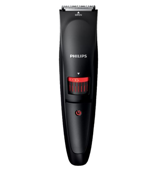Philips Beard Trimmer Series 1000 BT405/13 cordless use with adjustable length settings