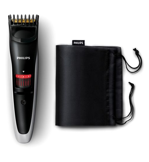 Philips Series 3000 Beard and Stubble Trimmer QT4013/23 with 17 length settings