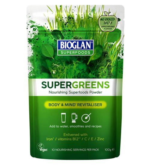 Bioglan Superfoods Supergreens 100g