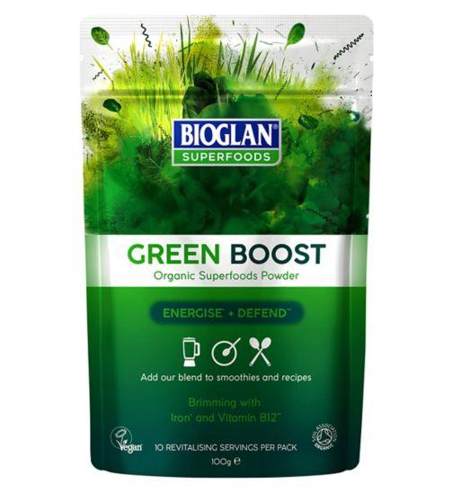 Bioglan Superfoods Organic Green Boost 100g