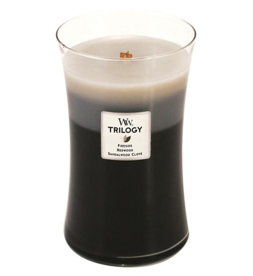 WoodWick Warm Woods Candle Large