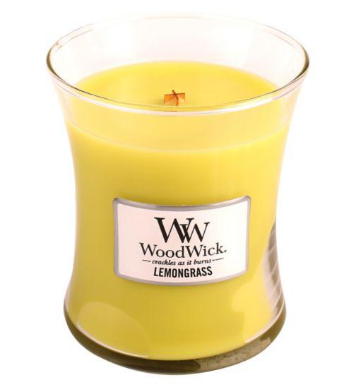 WoodWick Lemongrass Medium Candle