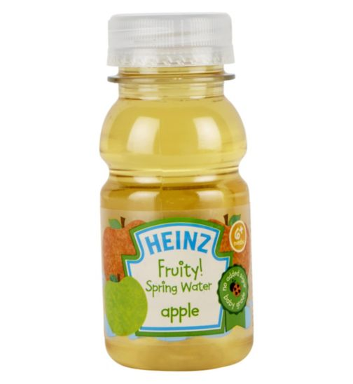 Heinz 6+ Months Fruity! Spring Water Apple 150ml