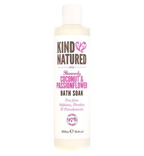 Kind Natured Heavenly Coconut & Passionflower Bath Soak 300ml