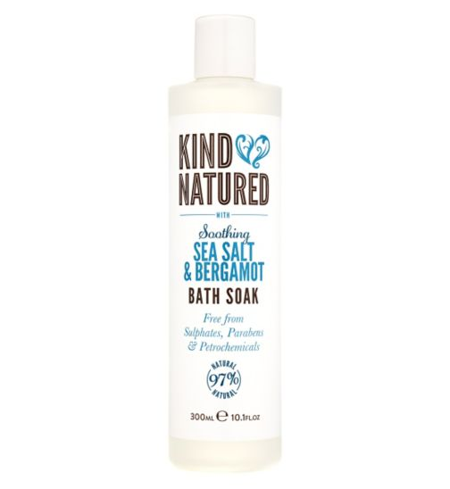 Kind Natured Soothing Sea Salt & Bergamot Bath Soak 300ml
