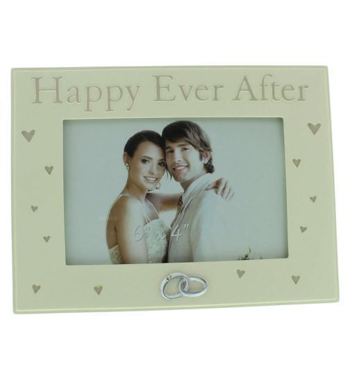 Resin Happy Ever After Photo Frame 6x4