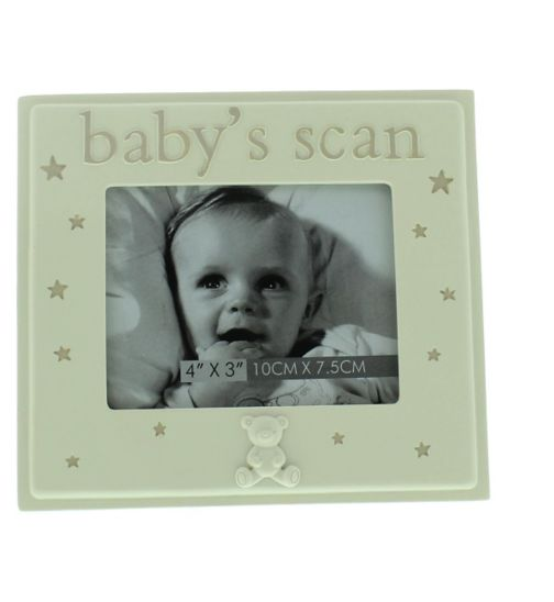 Resin Baby Scan Photo Frame 4x3?