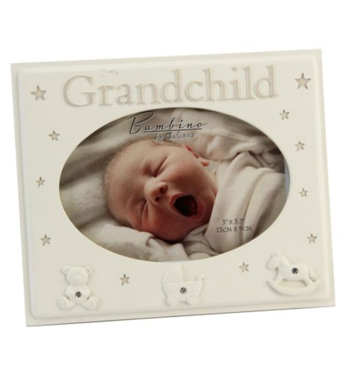 Resin Grandchild Photo Frame 5x3