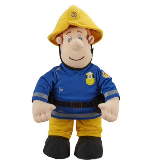 Fireman Sam 12 talking plush