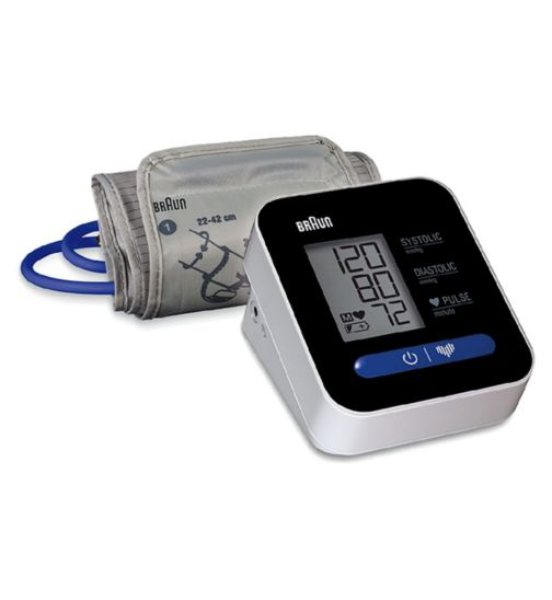 Braun ExactFit 1 BUA5000 Automatic Upper Arm Blood Pressure Monitor
