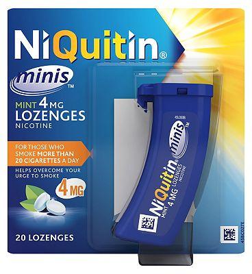 NiQuitin Mini's Mint 4mg - 20 Lozenges