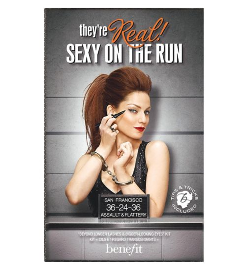 Benefit Sexy on the Run mascara eyeliner gift set