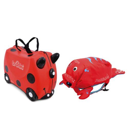 Harley Ladybird Trunki & Pinch Lobster PaddlePak Bundle