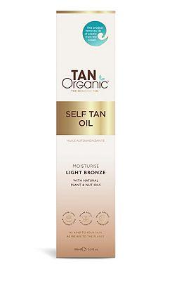 Tanorganic Self Tanning Oil 100ml