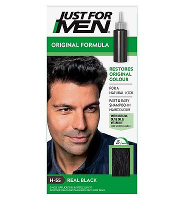 Just For Men Hair Colourant Natural Black