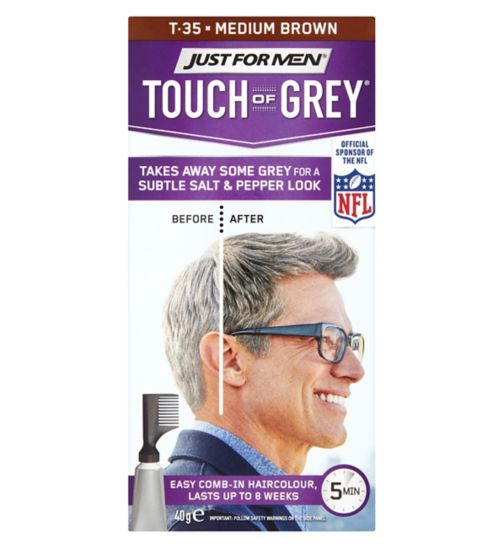 Just For Men Touch of Grey, Brown Grey