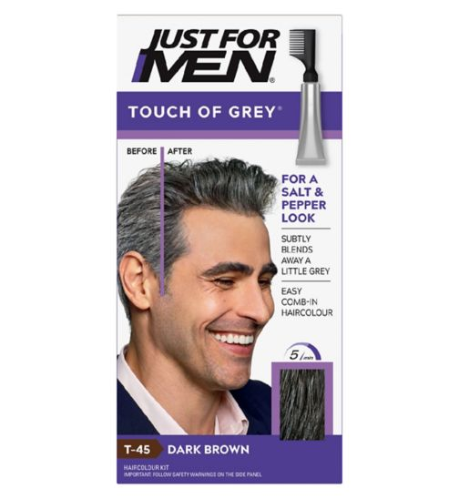 Just For Men Touch of Grey, Dark Brown Grey