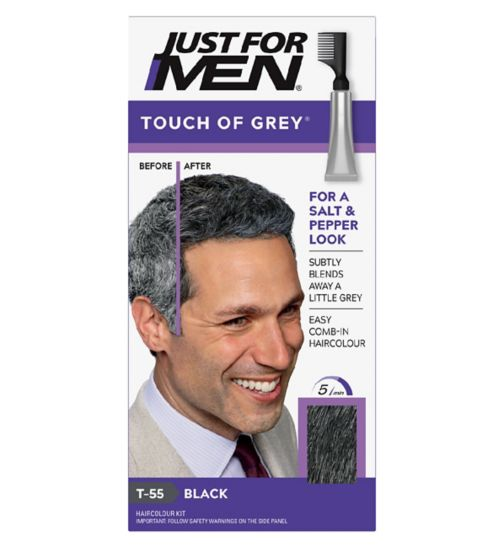 Just For Men Touch of Grey,Black Grey