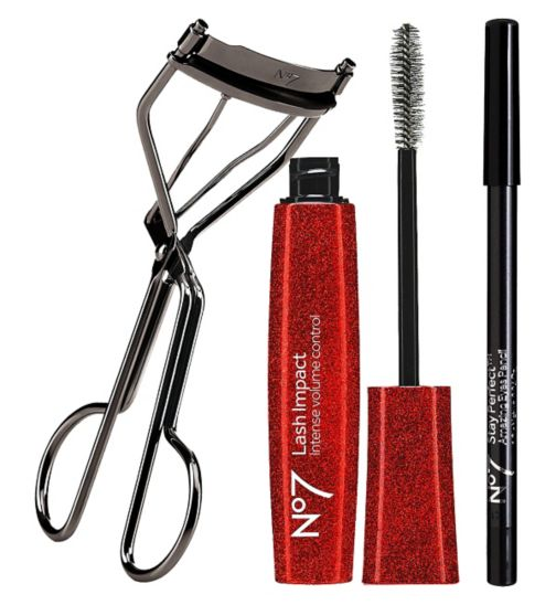 No7 Define & Flutter;No7 Eye Lash Curler;No7 Lash Effect Mascara Brown/Black;No7 Lash Impact Mascara 7ml;No7 Lift & Curve Eyelash Curler;No7 Stay Perfect Amazing Eyes Pencil;No7 Stay Perfect Amazing Eyes Pencil