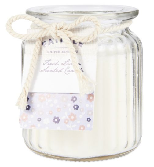 Fat Face Fresh Linen Scented Candle